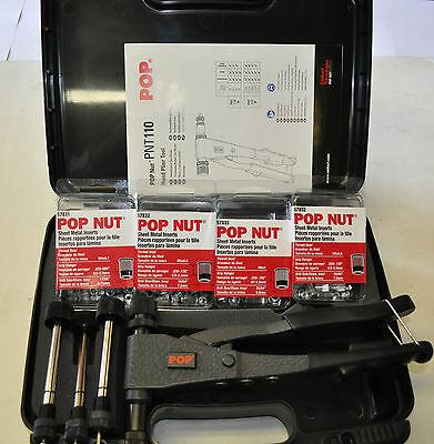 Helicoil Pnt110-m-kitpop Nut Rivet Nut Thread Insert Kitmetric M3456 Sizes