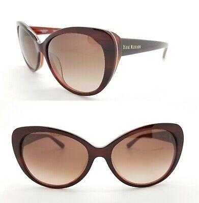 New Isaac Mizrahi New York sunglasses IM30228 RE 56mm Red Brown Gradient GENUINE