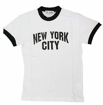 City Kids (New York City Kids John Lennon Ringer NYC Boys Beatles T-shirt White Youth)