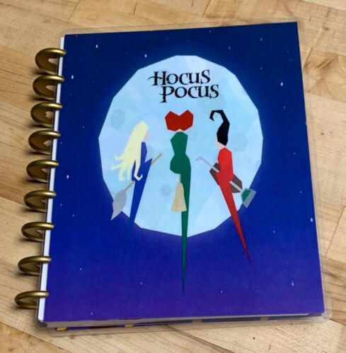 Hocus Pocus Moonlight Cover Set FOR USE with the Happy Planner