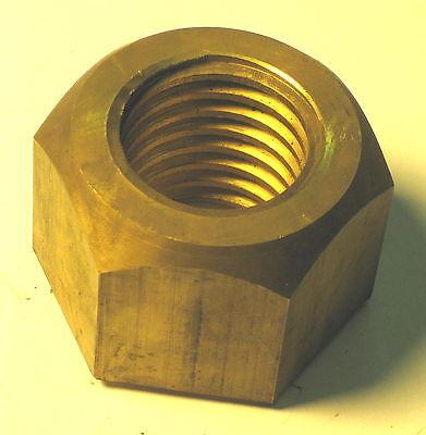 1-12 - 5 Tpi Lh Left Hand Acme Thread Brass Nut Buffing Machine Buffer Parts