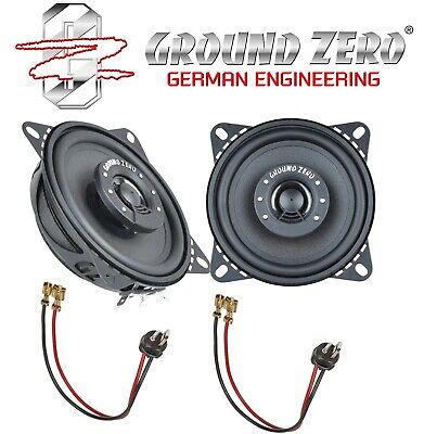 LAUTSPRECHER für Mercedes W201 Armaturenbrett  2-Wege Ground Zero 4001FX