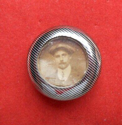 Ancienne broche / photo en argent - 1900