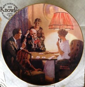 Bradford Exchange Norman Rockwell Collector Plates