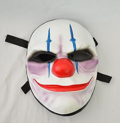Resin Replica Payday 2 Chains Mask With Stripe Halloween PROP Cosplay - Halloween 2 Replica Mask