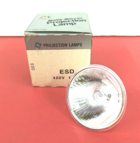 ESD MR16 150W 120V GE Photo Stage Projection LIGHT BULB Studio LAMP 43756 NEW