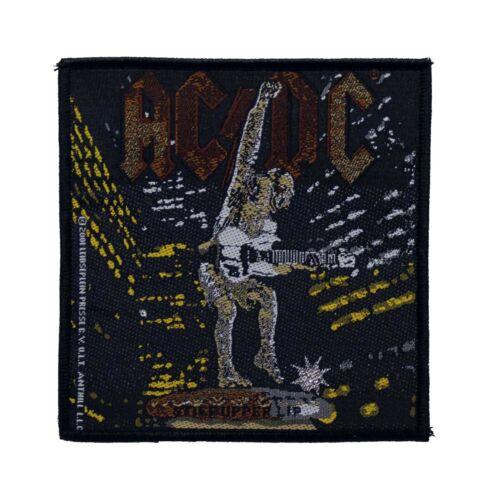AC/DC Stiff Upper Lip Woven Sew On Battle Jacket Patch - Licensed 090