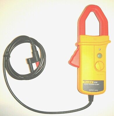 Fluke I410-kit Acdc Current Clamp With Meter Carry Case