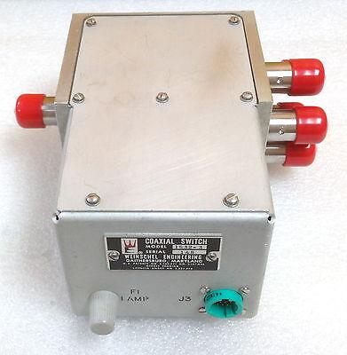 Weinschel 1532-3 Type N F Coaxial Switch