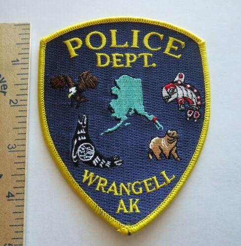 WRANGELL ALASKA POLICE DEPARTMENT PATCH Vintage Original