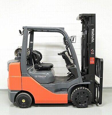 Nice 2014 Toyota 6000 Lb Lpg Forklift 6000 Lb 8fgcu30 Side Shifter