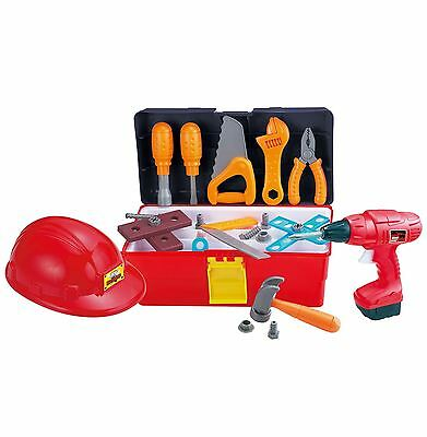 Builder DIY Children Playing Workbench Tool Set Creative Learning Toy Sets 3 Yr+