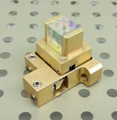 Thorlabs 12 Polarizing Beamsplitter Cube 9001300nm Laser Optic Mount Adjust