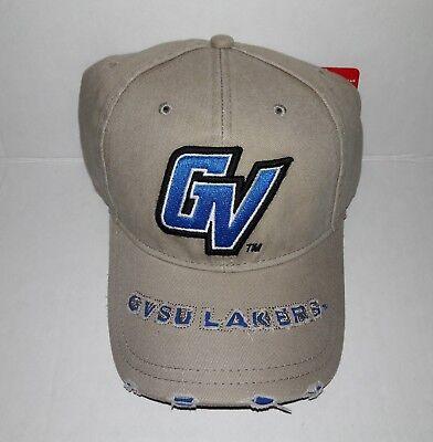 - Grand Valley State University GVSU Lakers Adjustable Buckle Hat Distressed Cap