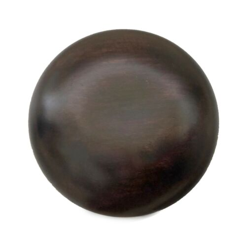 """4.5"""" Brown Chinese Oriental Wooden Lid Cap Cover for Ginger Jar and Vases"""