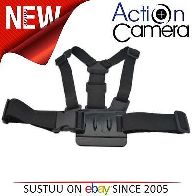 Action Camera FORTE REGOLABILE IMBRACATURA PETTORINA CINGHIA per S acch1 NUOVO