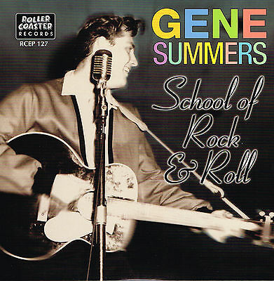 GENE SUMMERS - FANCY DAN + SCHOOL OF R'N'R + STRAIGHT SKIRTS + 1 (ROCKABILLY EP