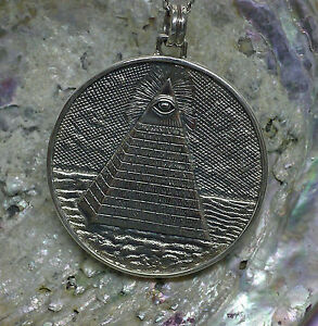 Schmuckanhänger 925Silber allsehendes Auge Gottes Freimaurer Ägypter Peter Stone