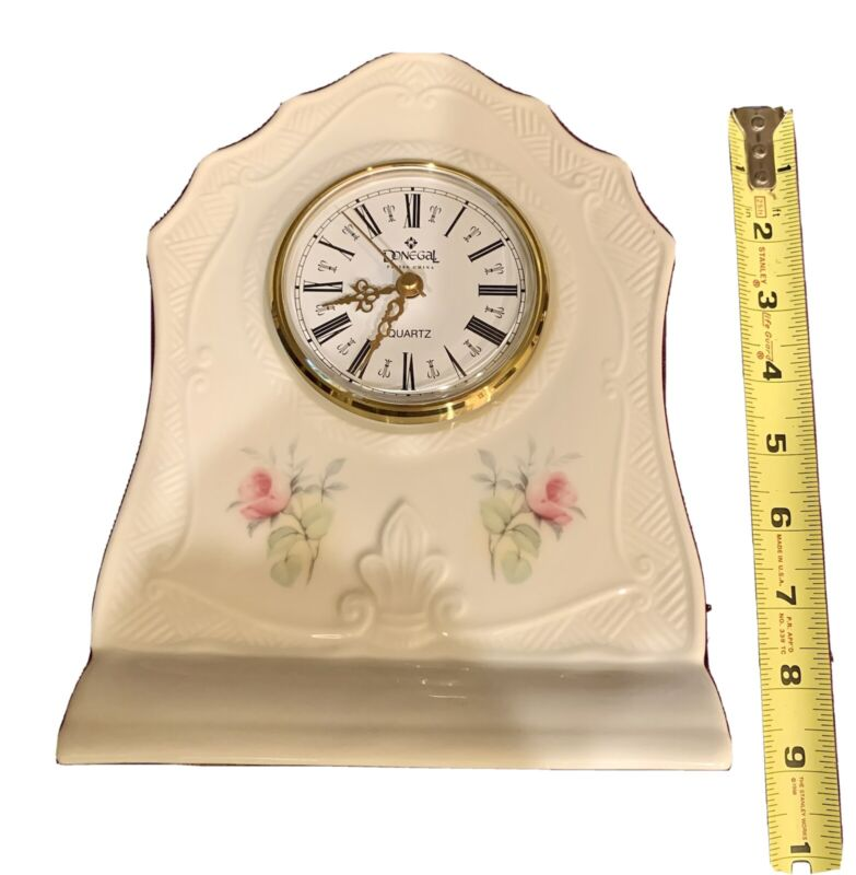 Collectable DONEGAL PARIAN BELLEEK CHINA CLOCK
