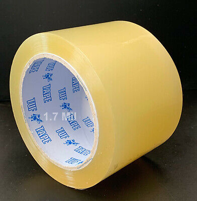 24 Rolls Clear Packing Tape 3 Inch x 110 Yds (330') Carton Sealing 1.7mil