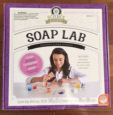 Science Academy Soap Lab Educational Learning Toy For Kids - Ships Free!