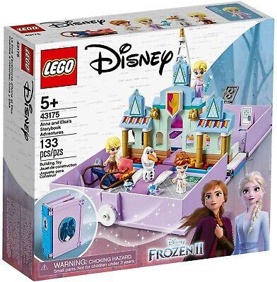Lego Disney Frozen II 43175 Anna & Elsa's Storybook Adventures New Building Set