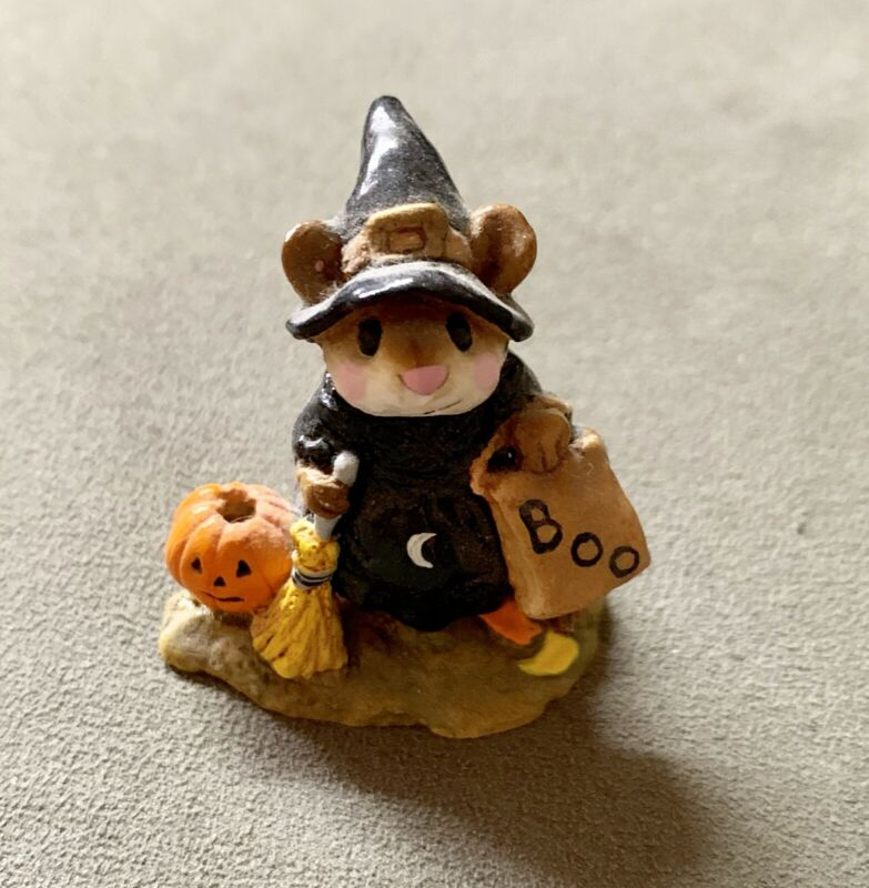 Wee Forest Folk Witchy Boo - Halloween Witch
