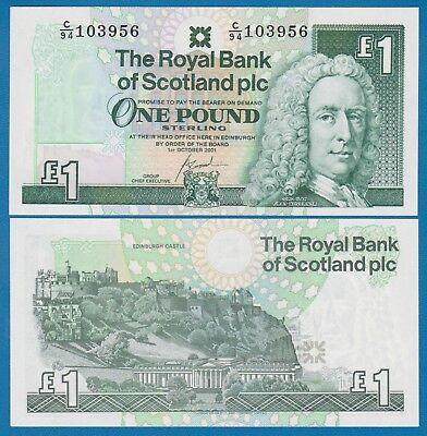 SCOTLAND 10 Pounds QE II Commemorative Diamond Jubilee 2012 P-368 UNC
