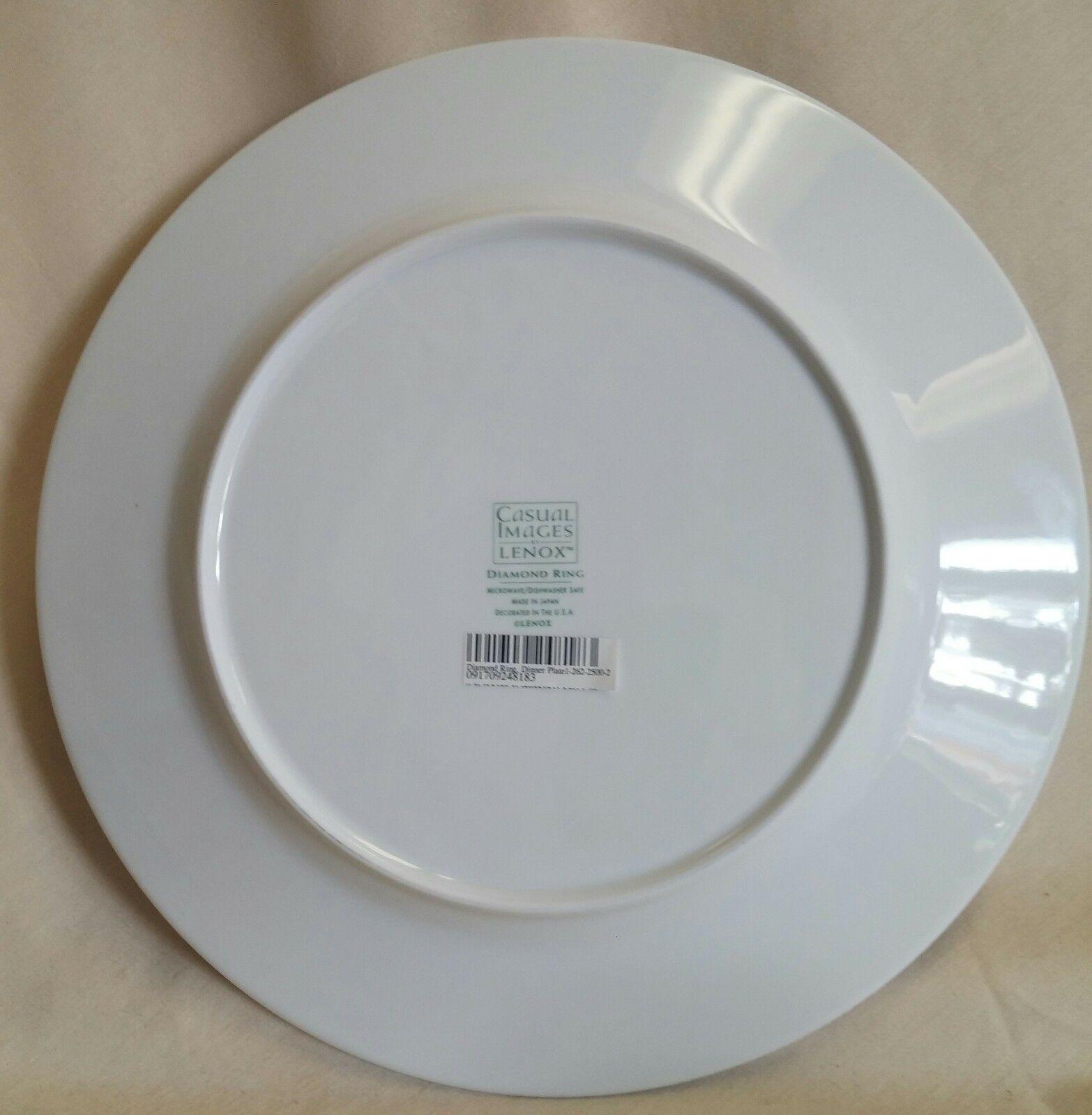 LENOX DIAMOND RING Dinner, Salad, Cereal Mug  - $79.00