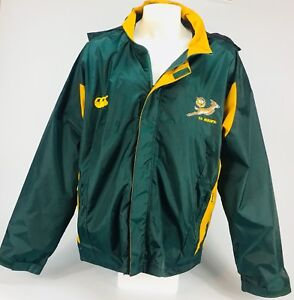 Rugby jacket new South African Springboks men's XXL hooded