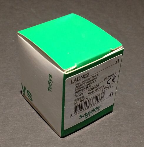 LADN22 Schneider Electric IEC Auxiliary Contact - NEW