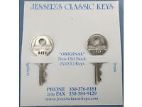 Briggs /& Stratton GV-14 Round Head NOS Key HARLEY DAVIDSON 1935 1936 1937 1938