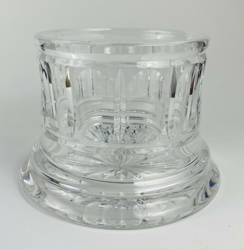 Vintage Waterford Crystal Wine Bottle Coaster MINT CONDITION