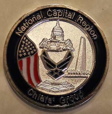 National Capital Region Chiefs Group Air Force Challenge Coin