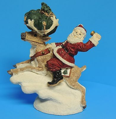 The Legend of Santa Claus United Designs Santa & Comet Larry Miller 1992