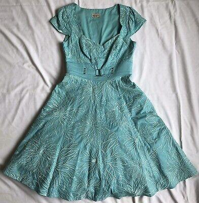 Karen Millen Turquoise/ Blue Dress Size 10