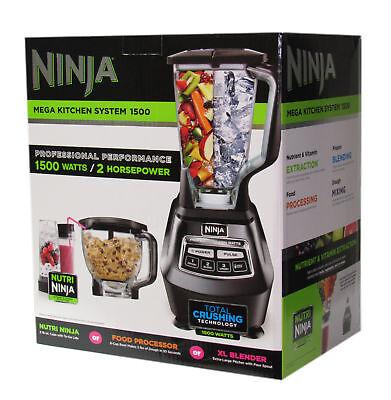 Ninja Mega Larder System BL770 Blender Mixer Food Processor Frozen Drink Maker