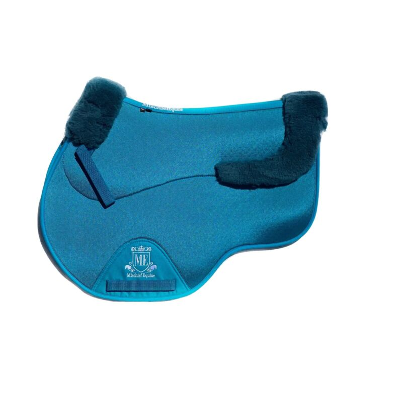 Wool Lined Saddlepad Available In Pony/cob/Full Jump Cut