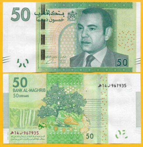 Morocco 50 Dirhams p-75 2012 UNC Banknote