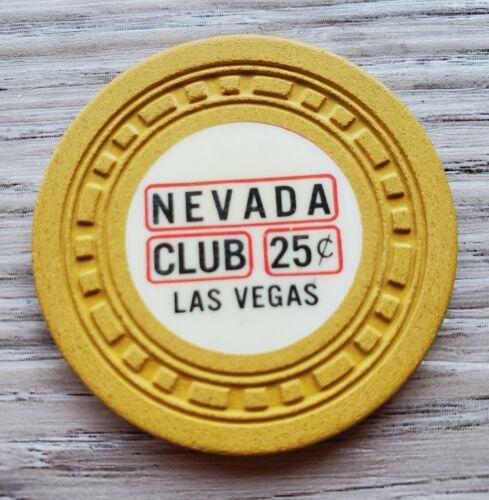 .25 Las Vegas Nevada Club Casino Chip - N6890