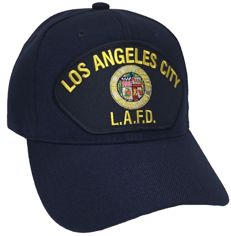Los Angeles City LAFD Navy Baseball Cap