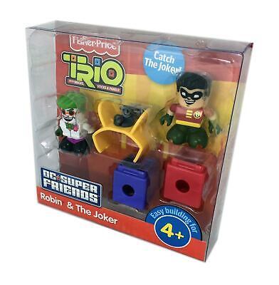 Fisher-Price TRIO DC Super Friends 2-Pack Figure Set - Robin & the Joker