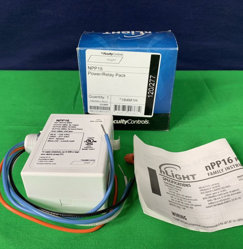 Acuity Controls NPP16 Power Relay Pack New