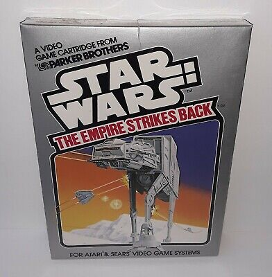 1982 NEW SEALED Star Wars EMPIRE STRIKES BACK Atari Video Game PARKER BROTHERS