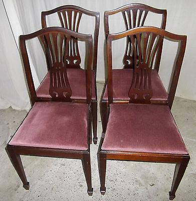 4 engl. Stühle                                                           /KT0425