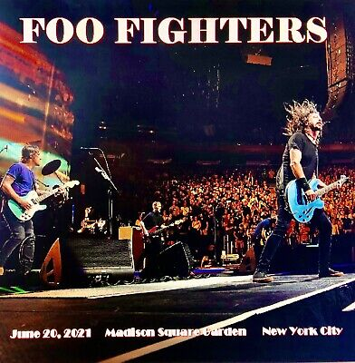 Foo Fighters Live 3 CD Set New York City 6/20/2021 Professionally Recorded