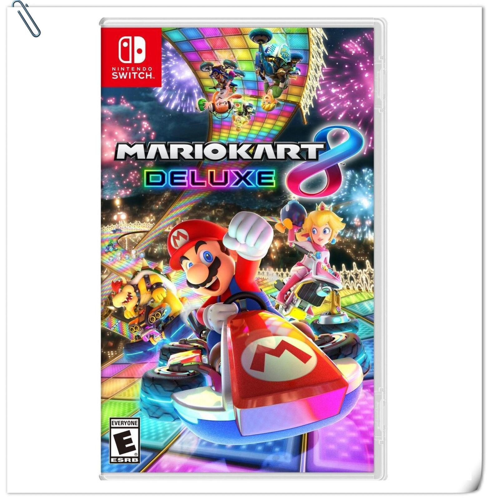 Mario Kart 8 Deluxe Nintendo Switch Racing Games