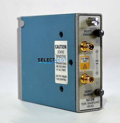 Tektronix Sd-24 Dual Channel Tdr Sampling Head 11801 Csa803a Look Ref 218g
