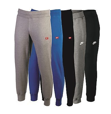 Nike Mens Cuffed Fleece Joggers Track Sweat Jogging Pants Tracksuit Jog Bottoms