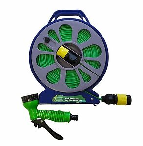 15m-Garden-Gardening-Lay-Flat-With-Non-Kink-Hose-Pipe-Cassette-Reel